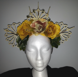 Wild Heart Headpiece - Front