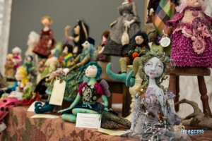 Art dolls by Louise Bergeron